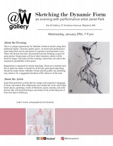 Sketching the Dynamic Form- An Evening with Janet Park