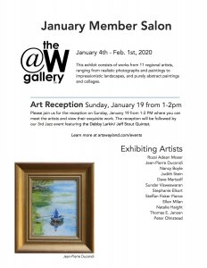 January Salon and Exhibition at the W Gallery