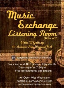 Music Exchange Listening Room